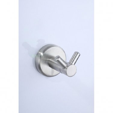 Stainless Steel Bathroom Accessories Satin finish Robe Hook 7608B