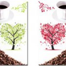 Stretched Canvas Art Food & Beverage Coffee Set of 2 -C023