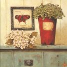Stretched Canvas Print Still Life Classic Style - K001
