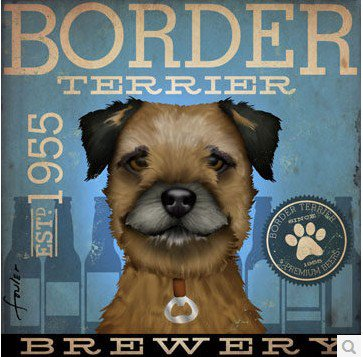 Dog Breed Animal Canvas Print - MHB006