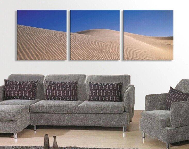 Stretched Canvas Art Landscape Set of 3 - YAYI305