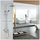 Modern Style Shower Faucet with 8 inch Shower Head + Hand Shower--310004