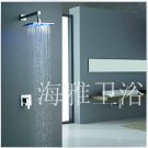 Single Handle Color Changing LED Shower Faucet with 8 inch Shower Head--000337