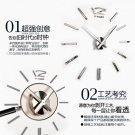 DIY 3D Mirror Acrylic Sticker Wall Clock - MAX3 (12S003S)
