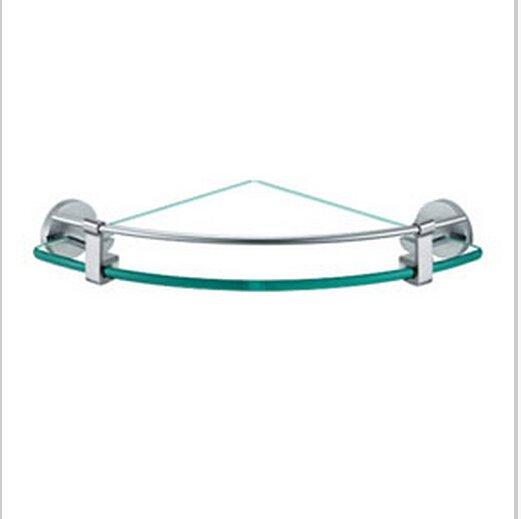 Chrome Finish Aluminium Bathroom Glass Brackets  0431