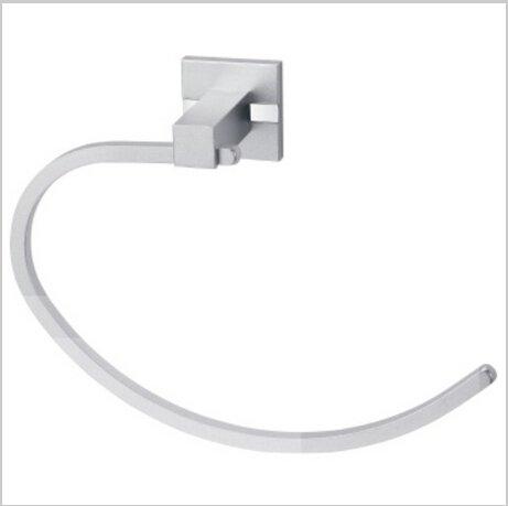 Bathroom Aluminium  Accessories  Chrome Finish Towel Ring 1421