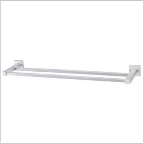 Modern Aluminium  Double Wall Mount Towel Bar  1586