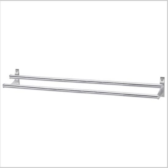 Modern Aluminium  Double Wall Mount Towel Bar   794