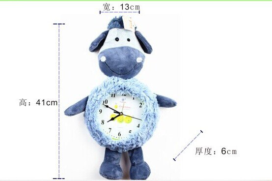 Cartoon Style Analog Wall Clock - KLW1001