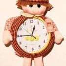 Cartoon Style Analog Wall Clock - KLW1005
