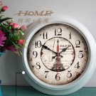 "15"" Traditional Style Metal Wall Clock - YGMW(BOLI054W)"