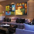 Modern Style Scenic Canvas Wall Clock 2pcs - MPF(K043021)
