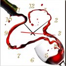 The Dance of Wine Clock in Canvas - MPF(HZ0020)