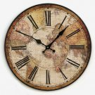 "14""Euro Country Wall Clock - YGMW14003"
