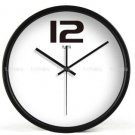 "12"" Modern Style Wall Clock in Stainless Steel - TUMA(BZ109B)"