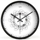 "12"" Modern Style Wall Clock in Stainless Steel - TUMA(BZ117B)"