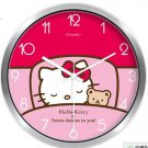 "10"" Cartoon Style Wall Clock in Stainless Steel- FEITAO(KT51S)"