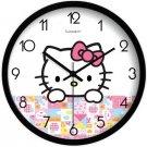 "10"" Cartoon Style Wall Clock in Stainless Steel-FEITAO(KT337B)"
