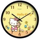 "10"" Cartoon Style Wall Clock in Stainless Steel-FEITAO(KT354B)"