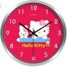 "10"" Cartoon Style Wall Clock in Stainless Steel-FEITAO(KT324S)"