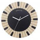 Originality Wall Clock Piano Pastoralism Mute LC1097