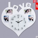 Large Size Wall Clock with Fashion Picture Frame Function Design - JT1377w