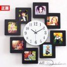 Super-sized Modern Luxurious Wall Clock with Photo Frame - JT8011B