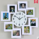 Super-sized Modern Luxurious Wall Clock with Photo Frame - JT8011W
