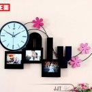 Contemporary Style Mute Iron Wall Clock - S52