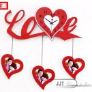 Modern Style Love Theme Wall Clock - JT9003