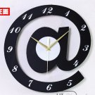 "12""Stylish Alphabet Decorative Wall Clocks - T2820B"