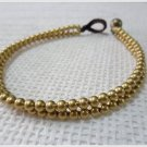 Brass Beads Chain Anklet