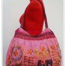 Cotton  Embroidered shoulder Bag