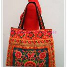 ETHNIC HMONG BAG EMBROIDERED FABRIC