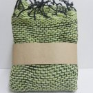 Green  Cotton 100% Scarf