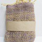 Multi Purple  Cotton 100% Scarf