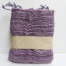 Purple  Cotton 100% Scarf