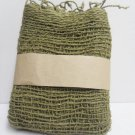 Olive green  Cotton 100% Scarf