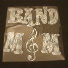 Band Mom Rhinestone Crystal Shirt