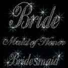Brides/Bridal Party Crystal Rhinestone Shirt