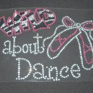 Wild About Dance Crystal Rhinestone Shirt