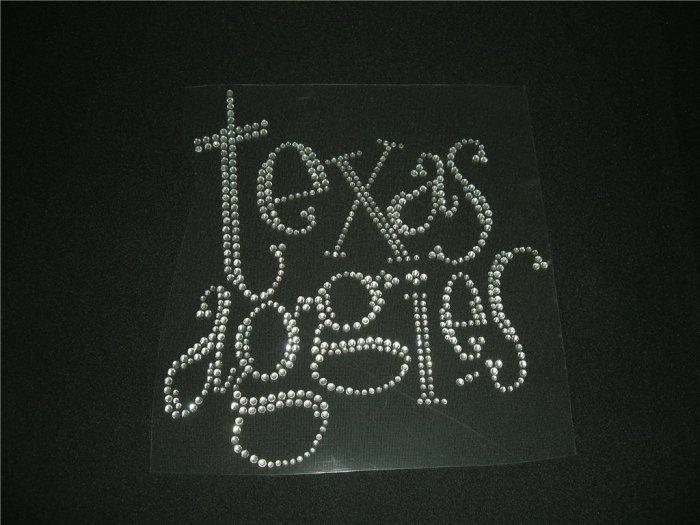 Texas Aggies Crystal Rhinestone Shirt