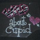 Wild about Cupid Crystal Rhinestone Shirt