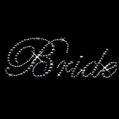 Bridal Party Bundle Pack Crystal Rhinestone Shirt