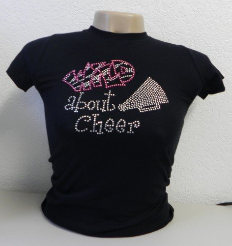 Wild about Cheer Crystal Rhinestone Shirt
