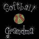 Softball/Baseball/Volleyball Grandma Crystal Rhinestone Shirt