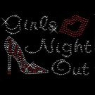 Girl's Night Out Crysytal Rhinestone Shirt