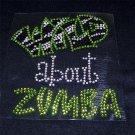 Wild about Zumba Crystal Rhinestone Shirt