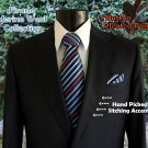 Firado Mens Suit - 100% Merino Wool - Navy 2 Button - Available in all sizes