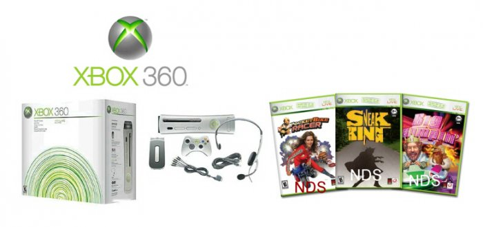 """Xbox 360 """"Premium Gold Pack"""""""